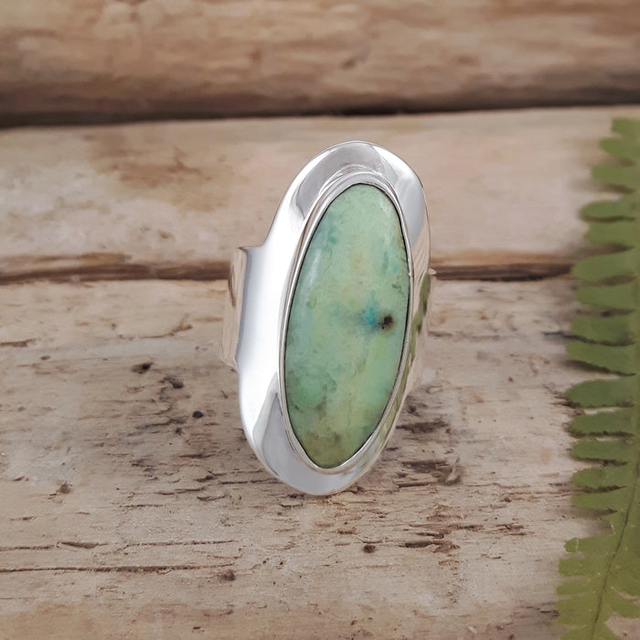 Monet Spring Chrysocolla S Ring B