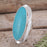 Monet Turquoise Oval XL Ring C