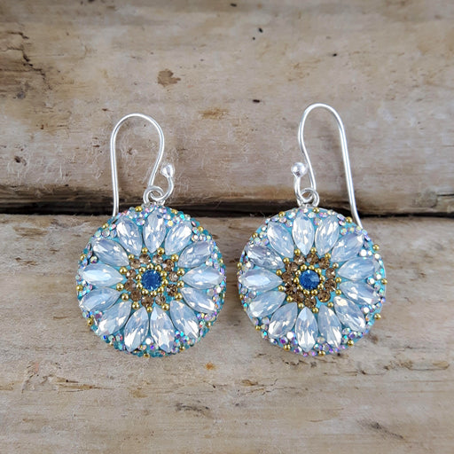Allegra Daisy Dream TQ Disc Earrings