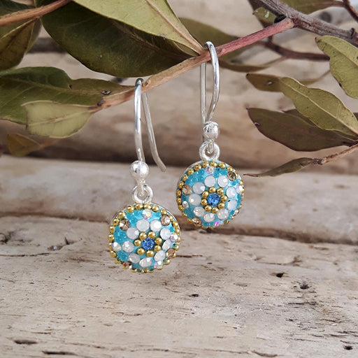 Allegra Daisy Dream TQ Drop Earrings