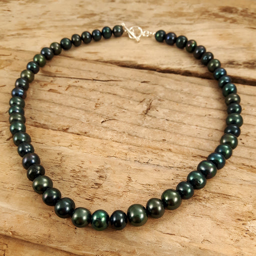 Imogen Peacock Pearl Necklace