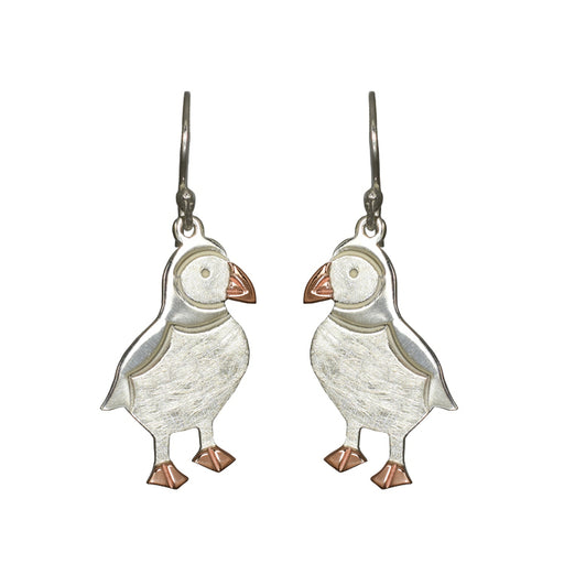 Duet Percy Puffin Drop Earrings