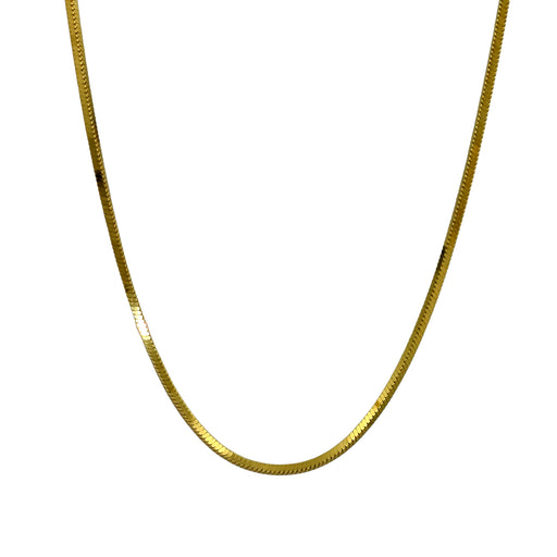 Quadra Gold Chain 120 45cm