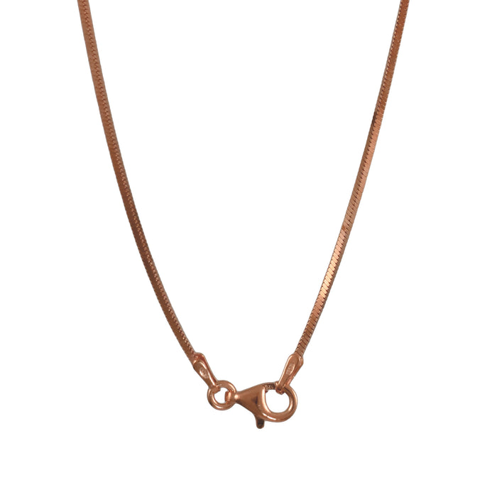Quadra Rose Gold Chain 120 45cm