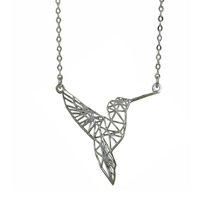 Celtic Hummingbird Necklace