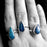 Rivera Turquoise Teardrop Adjustable Ring A