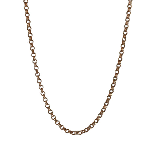 Classic Rolo Rose Gold 45cm Chain