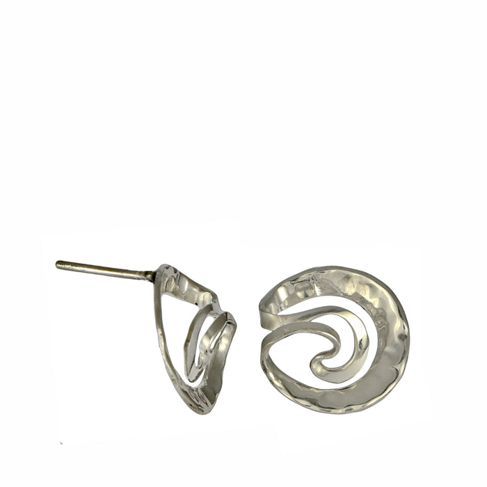 Samba Hammered Stud Earrings