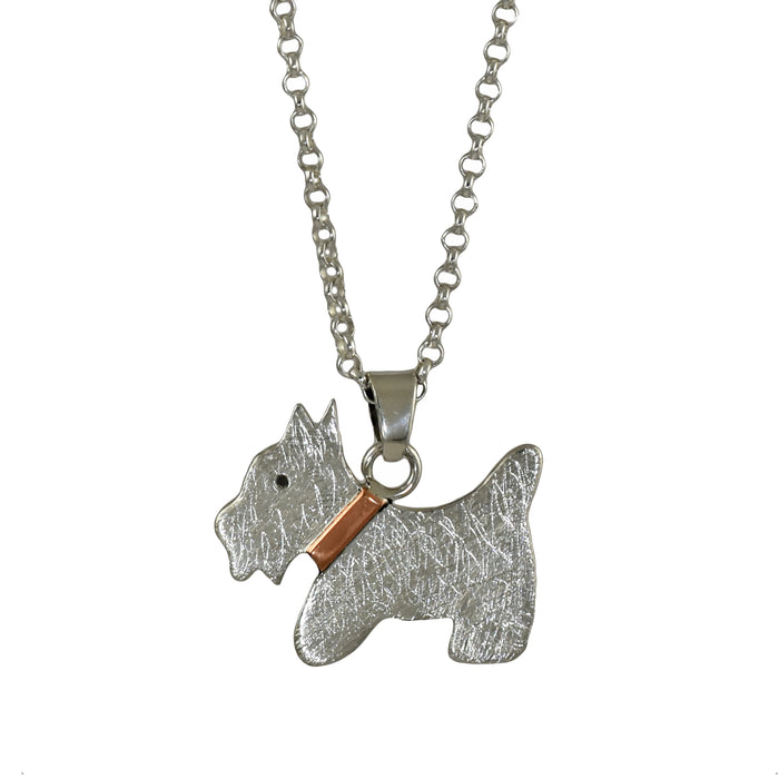Duet Scottie Dog Pendant