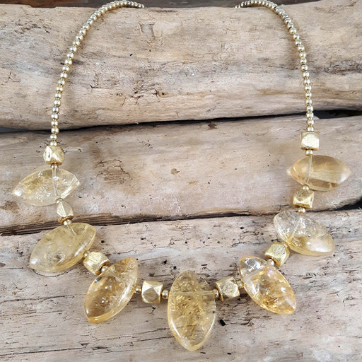 Sienna Citrine Necklace