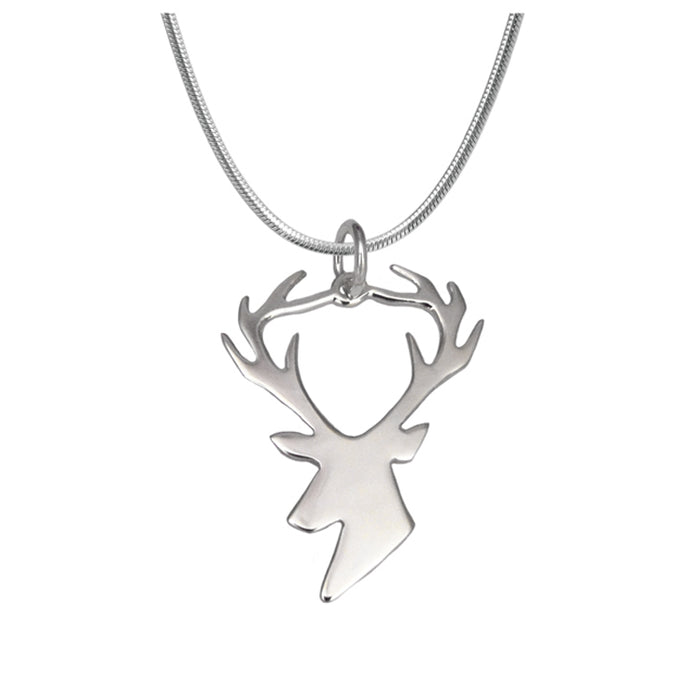 Duet Stag Charm