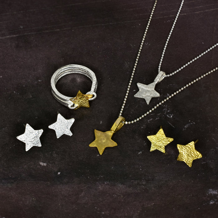 Foresta Claire Star Gold Ring