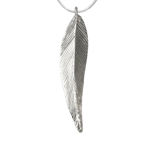 Feather Silver Pendant