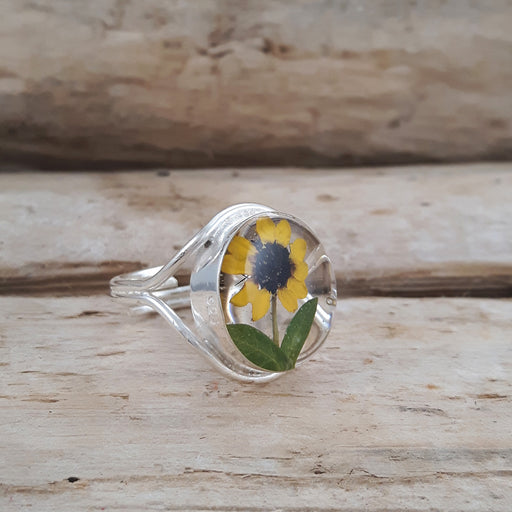 Flores Sunflower Adjustable Ring