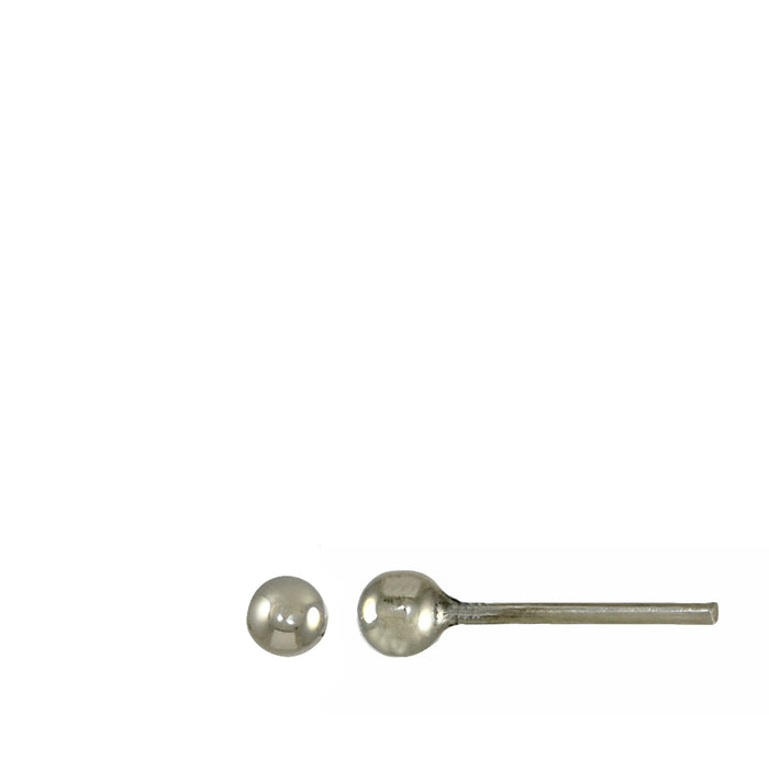 P Polished Tiny Stud Earrings