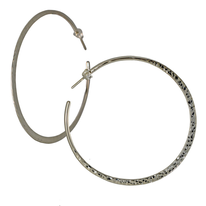 Toro 6cm Hoop Earrings