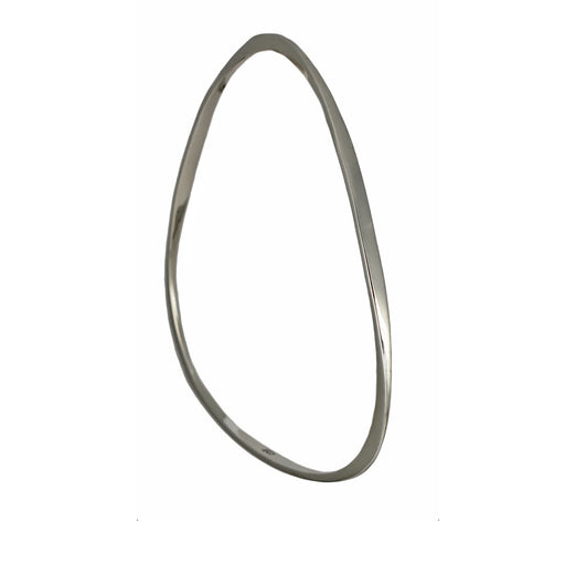 Triangle Polished Bangle