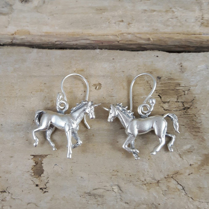 Unicorn 3D Earrings