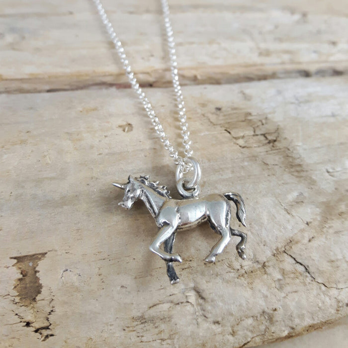 Unicorn 3D Pendant
