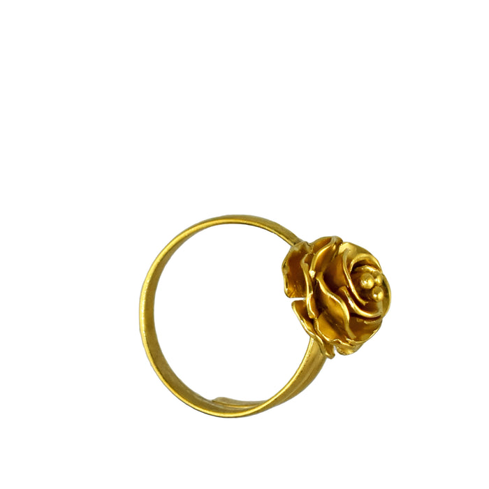 York Rose Gold Adjustable Ring