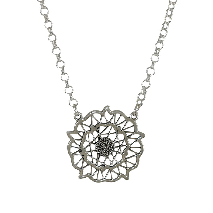 Yorkshire Rose Necklace