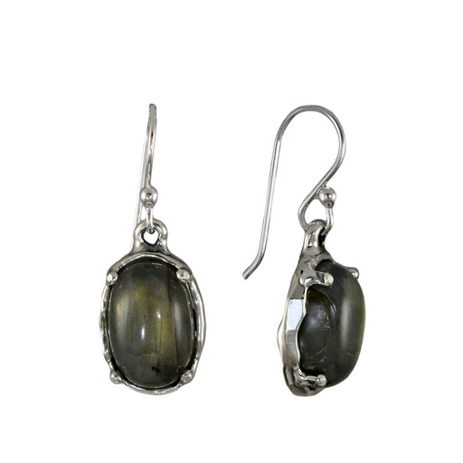 Yulya Labradorite Drop Earrings