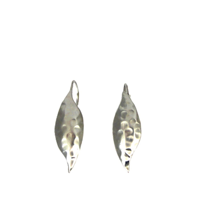 Zest Hammered Drop Earrings