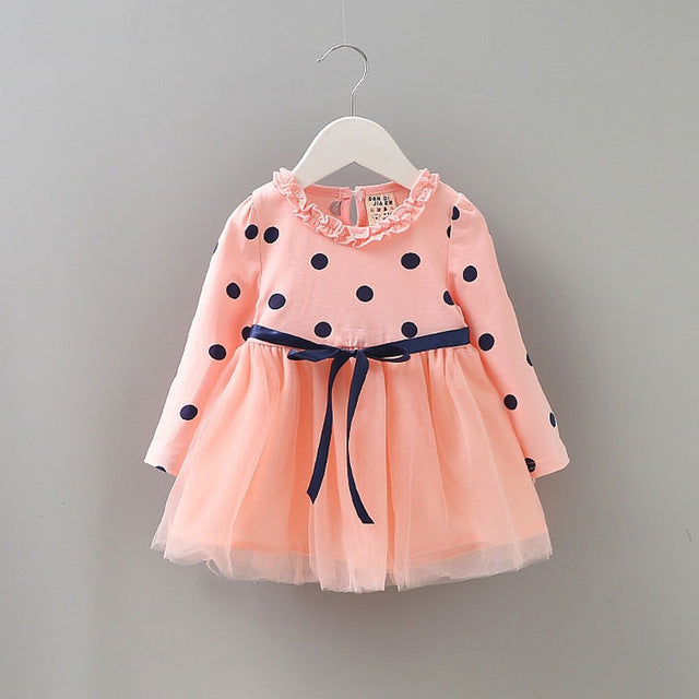 a584f09d5ba7 2017 autumn winter newborn infant baby clothes dress for baby girl clothing  p... - pink / 0-3 months