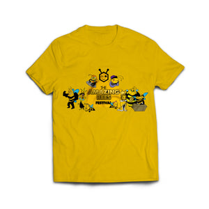 Amazing Bees Logo Promo Bee Boys and Girls T-Shirt