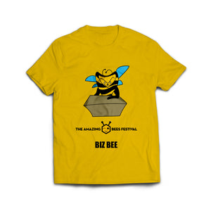 Amazing Bees Funny Biz Bee Boys and Girls T-Shirt