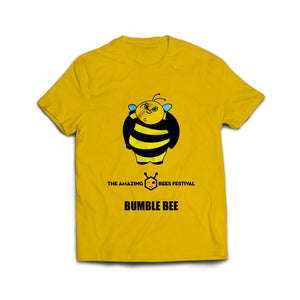 Amazing Bees Bee Emoji Bumblebee Emoticon Honeybee T-Shirt