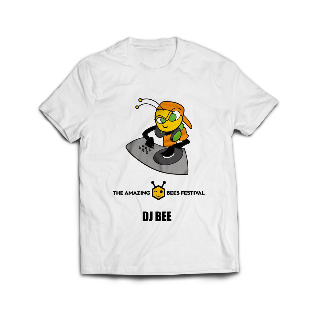 Amazing Bees Bee Emoji Dj Emoticon Honeybee T-Shirt