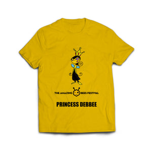 Amazing Bees Bee Emoji Princess Deb Bee Emoticon T-Shirt
