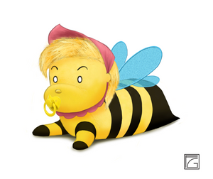 Baby Girl Bee Toy