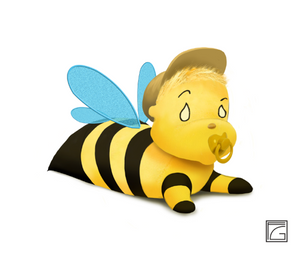 Baby Boy Bee Toy