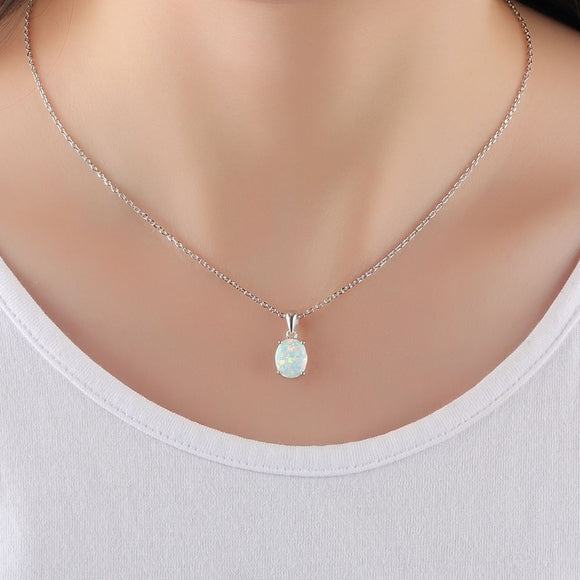 opal silver jewellery for women in UK London