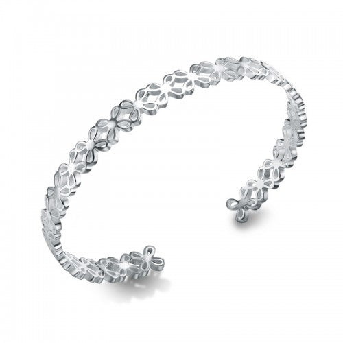 silver bangle bracelet for women in UK London