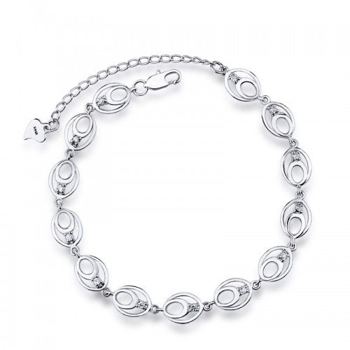 Sterling Silver Bracelets, sterling silver bracelets for women, ladies sterling silver bracelets