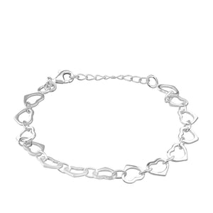 Sterling Silver Bracelets, sterling silver bracelets for women, ladies sterling silver bracelets, contemporary jewellery, handmade bracelets