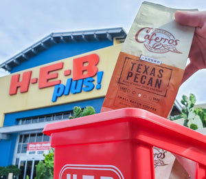 FIND CAFERROS IN H-E-B