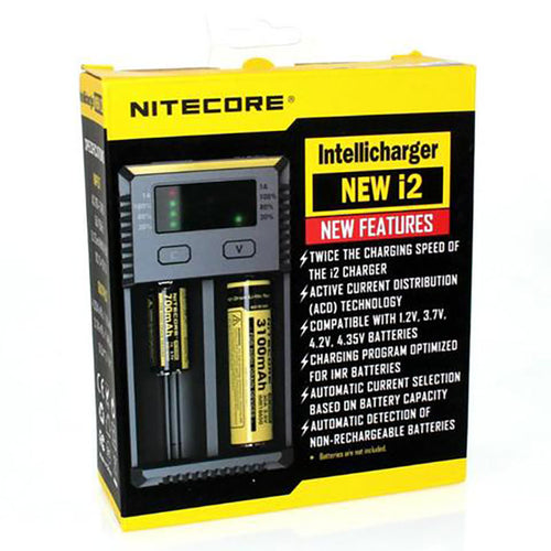 Nitecore i2 Intellicharger 2Bay