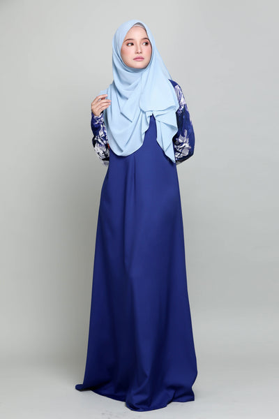 Jubah Anisha - Royal Blue