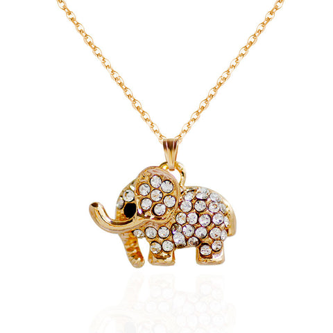Elephant Pendant Necklace