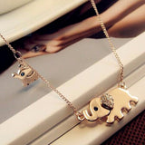 Cute Elephant Necklace