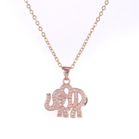 Handmade Elephant Necklace