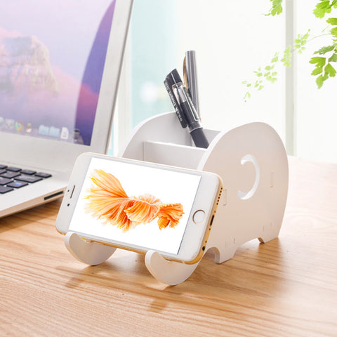 Elephant Stand For Phone And Writing Tools