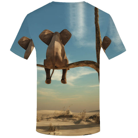 3d t-shirt of elephant
