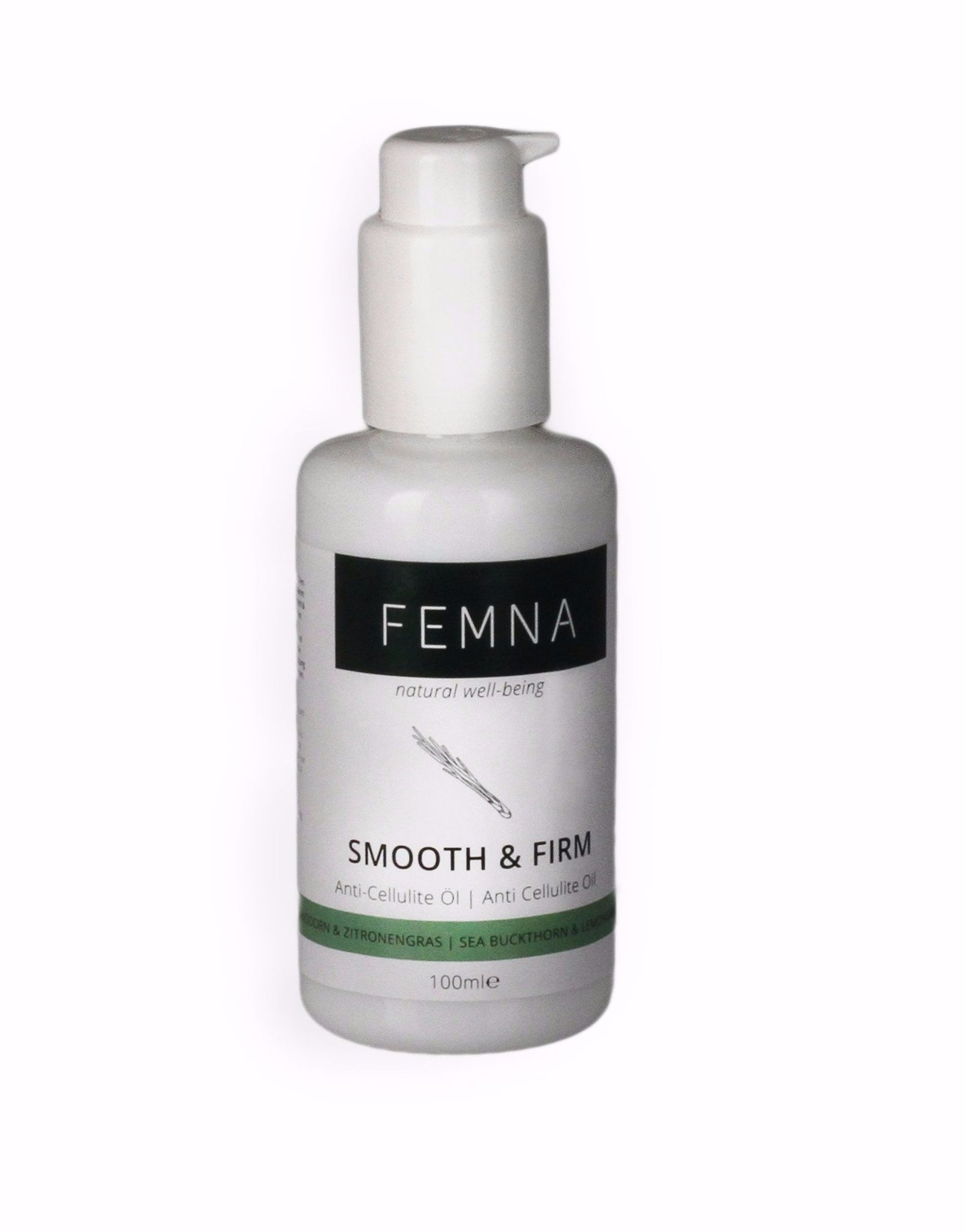 Femna Smooth & Firm Körperöl (100ml) Anti-Cellulite Bio Öl