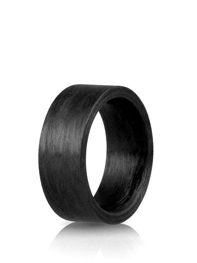 carbon thick ring for women and men