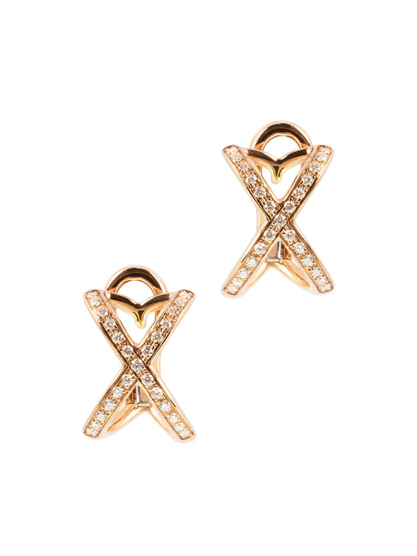 Tattoo Earrings In Rose Gold